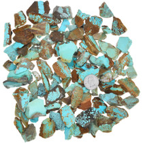 Small Number 8 Turquoise Slices 37154