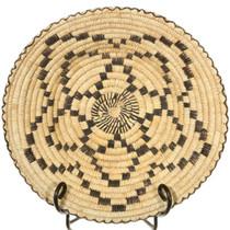 Papago Indian Star Flower Basket Bowl 40967