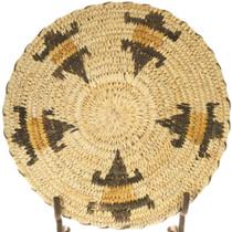 Polychrome Papago Lizards Basket Bowl 40969