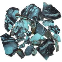 Sliced Number 8 Turquoise Black Matrix 37156