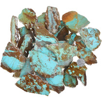 Large Number 8 Turquoise Rough 37157