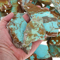 Blue Green Turquoise Sliced Rough  37157