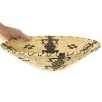 Authentic Papago Lizards Design Basket 40972