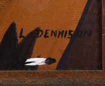 Original Navajo Larry Dennison Still Life Framed 40974