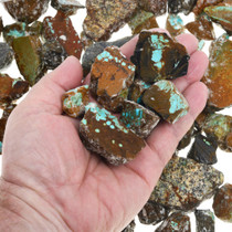 Genuine Number 8 Ribbon Turquoise Rough 37257