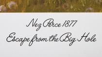 "Nez Perce 1877 Warriors ""Escape from the Big Hole"" Art Print 40983"