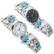 Blue Turquoise Mens Watches 40995