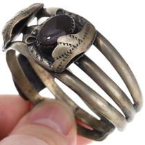 Sterling Silver Fire Agate Bracelet 40896