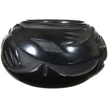 Santa Clara Avanyu Pottery Incised Blackware Bowl 41013
