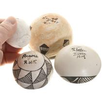 Pueblo Indian Pottery Set of Four 41016