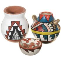 Vintage Southwest Pueblo Pottery Set 41021