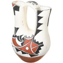 Vintage Jemez Wedding Vase Polychrome Pottery 41023