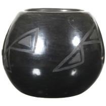 San Ildefonso Blackware Pottery 41027