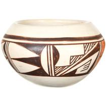 Hopi Tewa Polychrome Pottery Bowl 41028