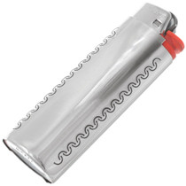 Navajo Made Turquoise Coral Lighter Case 41032