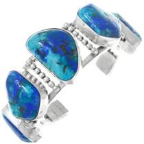 Vintage Native American Azurite Bracelet 41043