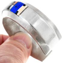 Multi Gemstone Micro Inlay Native American Bracelet 41059