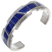 Sterling Silver Lapis Bracelet 41061
