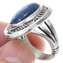 Sterling Silver Lapis Lazuli Ring 41064