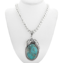 Turquoise Sterling Silver Pendant 28672