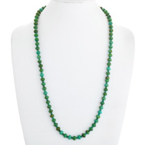Navajo Emerald Valley Turquoise Necklace 41104
