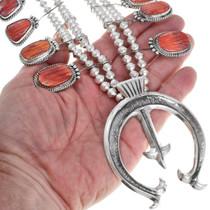 Native American Squash Blossom Necklace 41124
