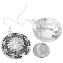Western Silver Earrings Artist Joey McCray Hallmarked 41128