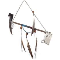 Navajo Antler Peace Pipe 41139