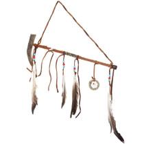 Navajo Dreamcatcher Antler Bowl Peace Pipe 41140