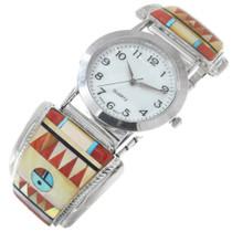 Colorful Zuni Inlay Mens Watch 41146