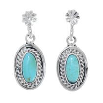 Native American Turquoise Earrings 41156