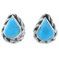 Turquoise Teardrop Earrings 41157