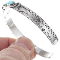 Sterling Silver Sleeping Beauty Turquoise Bracelet 41164