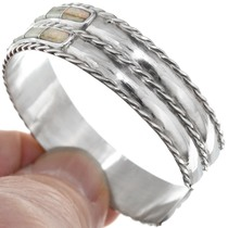 Native American Opal Inlay Bracelet 41170
