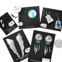 Authentic Native American Earrings Jobber Wholesale Lot 37287