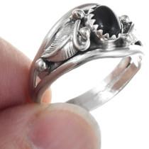 Native American Onyx Ring 41179