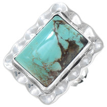 Sterling Silver Turquoise Native American Ring 41183