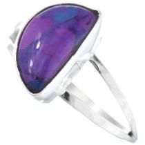 Navajo Purple Charoite Ladies Ring