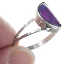 Sterling Silver Charoite Native American Ring