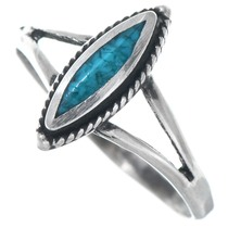 Sterling Silver Turquoise Ring 41190