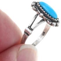 Bright Blue Turquoise Ladies Ring 41194