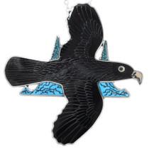 Golden Eagle Zuni Pendant Lapel Pin Brooch 41249