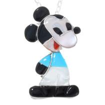 Zuni Mickey Mouse Pendant 41256