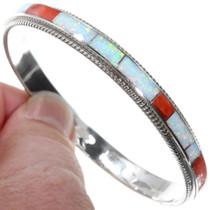 Native American Opal Bracelet Bangle Hoop 41264