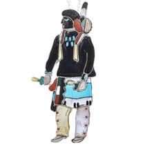 Zuni Inlay Kachina Dancer Pendant 41271