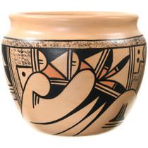 Polychrome Hand Painted Hopi Pottery 37304