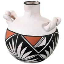Small Acoma Pottery Canteen 37306