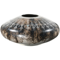Acoma Horsehair Pottery Saucer 37307