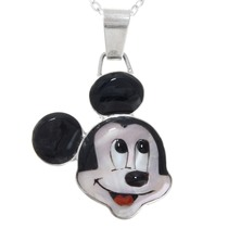 Sterling Silver Mickey Mouse Pendant 41269