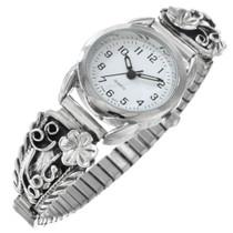 Sterling Silver Navajo Ladies Watch 41311